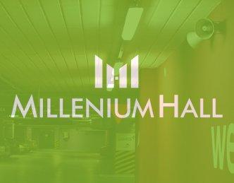 Oświetlenie galerii handlowej Millenium Hall