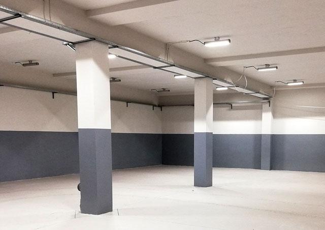 Lampy przemysłowe LED dla ORZEŁ S.A. - Poniatowa