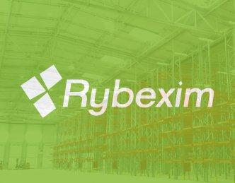 Oświetlenie hali dla firmy Rybexim