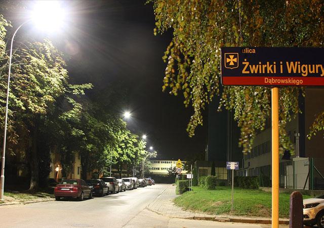 Lampy uliczne LED w Rzeszowie