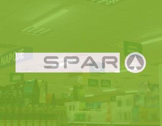 Oświetlenie sklepowe LED dla firmy Spar